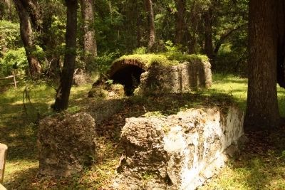 Frederica - Old Burial Ground Stone Tombs image. Click for full size.