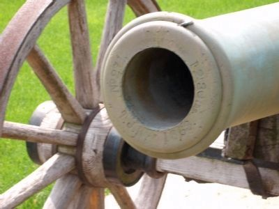Muzzle View - - Second - Civil War Cannon image. Click for full size.