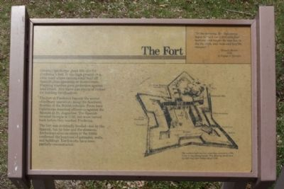 Frederica - The Fort Marker image. Click for full size.