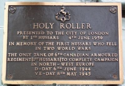 Holy Roller Marker image. Click for full size.