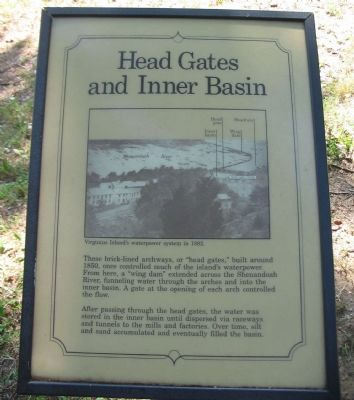 Head Gates and Inner Basin Marker image. Click for full size.