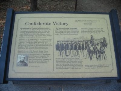 Confederate Victory Marker image. Click for full size.