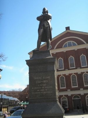 Samuel Adams Marker Photo, Click for full size