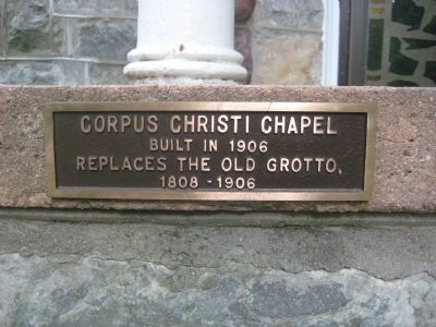Corpus Christi Chapel Marker image. Click for full size.