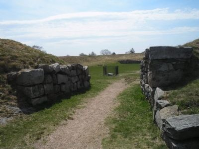 Fort Griswold Gate image. Click for full size.