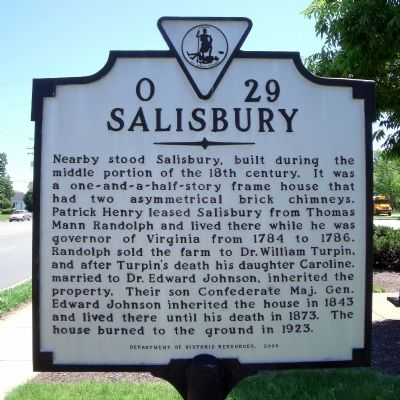 Salisbury Marker Photo, Click for full size