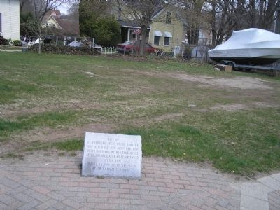 Site of Ye Ebenezer Avery House Photo, Click for full size