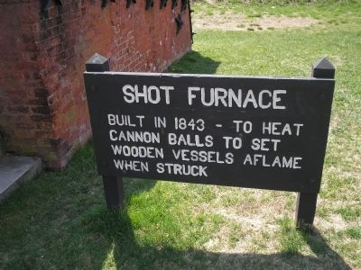 Shot Furnace Marker image. Click for full size.