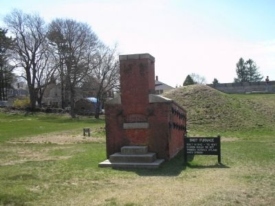 Marker in Fort Griswold image. Click for full size.