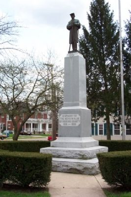 Hocking County Civil War Memorial image. Click for full size.