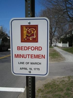 Bedford Minutemen Marker Photo, Click for full size