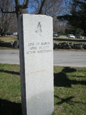 Acton Minutemen Marker Photo, Click for full size