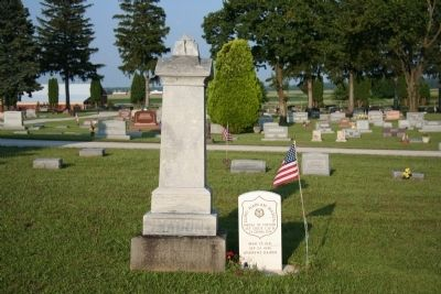 Gravestones of Captain Elihu H. Mason Photo, Click for full size