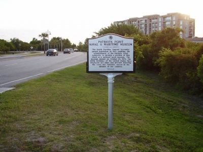 Patriots Point Naval & Maritime Museum Marker image. Click for full size.