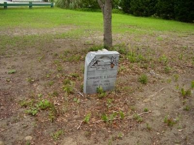 Gravestone near the African American Cemetery Marker Photo, Click for full size
