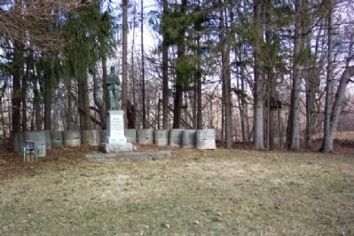Ortt's Preble County Civil War Memorial Photo, Click for full size
