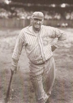 "Joseph Jefferson ""Shoeless Joe"" Jackson (1888-1951) image. Click for full size."