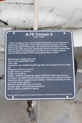 The A-7E Corsair II Marker image. Click for full size.