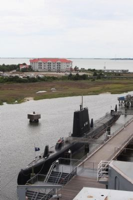 USS Clamagore (SS-343)also on display at Patriots Point Naval & Maritime Museum image. Click for full size.