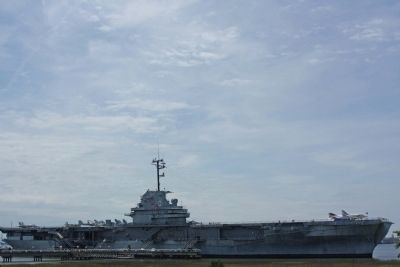Patriots Point Naval & Maritime Museum Feature display, USS Yorktown (CV-10) Photo, Click for full size
