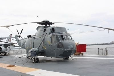 SH-3G Sea King , Rotor disc area: 280.47 m2 (3018 sq ft) Photo, Click for full size