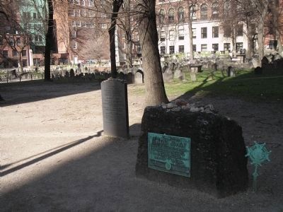 Victims of the Boston Massacre Marker Photo, Click for full size