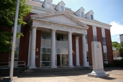Gordon County Courthouse image. Click for full size.