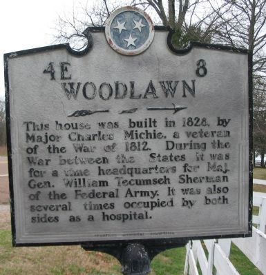 Woodlawn Marker Photo, Click for full size
