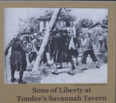 Savannah in the American Revolution Marker image. Click for full size.