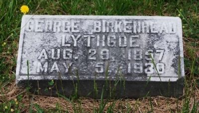 George Birkenhead Lythgoe&#39;s<br>Second Child of Augustus Lythgoe<br>Long Cane Cemetery, Abbeville, SC image. Click for full size.