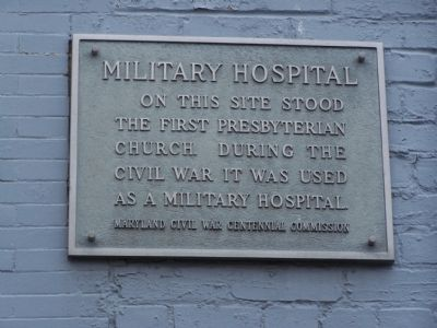 Military Hospital Marker Photo, Click for full size