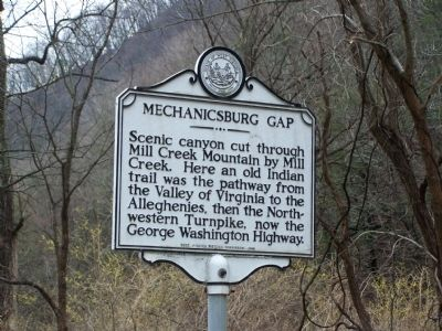 Mechanicsburg Gap Marker image. Click for full size.