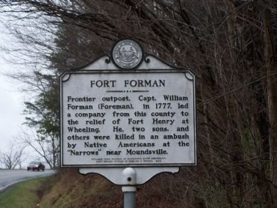 Fort Forman Marker Photo, Click for full size