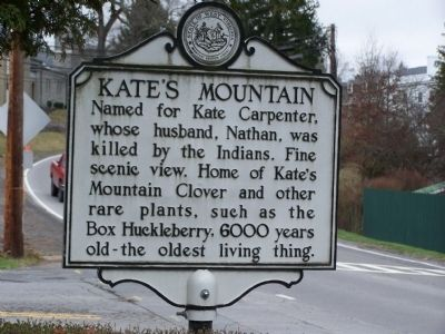 Kate's Mountain Marker image. Click for full size.
