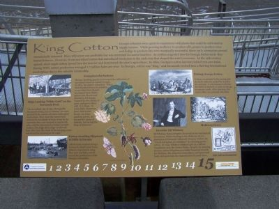 King Cotton Marker image. Click for full size.