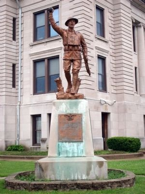 Full View - - Owen County (Indiana) War Memorial image. Click for full size.