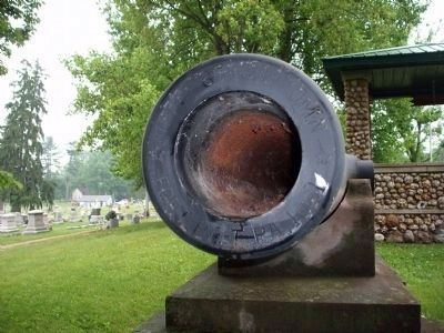 West Cannon - Muzzle - - Owen County Indiana image. Click for full size.