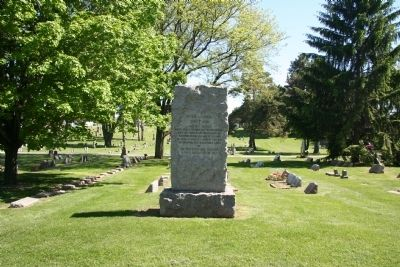 Peter Navarre Memorial Marker image. Click for full size.