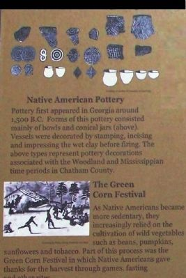 Native American Pottery Photo, Click for full size