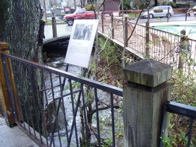 Baskins Creek Marker image. Click for full size.