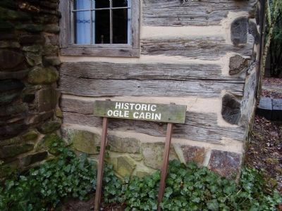 Martha Jane Ogle Cabin Marker Photo, Click for full size
