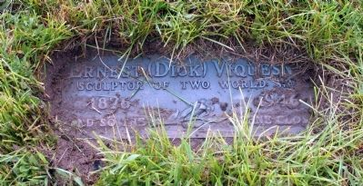 E. M. (Dick) Viquesney - Grave Marker Photo, Click for full size