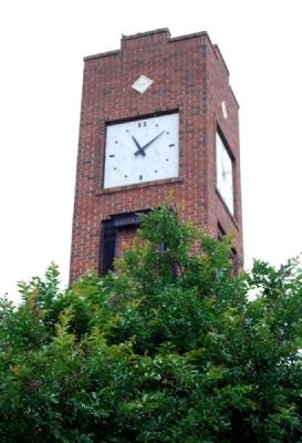 Simpsonville Clock Tower Photo, Click for full size