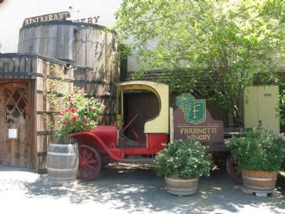 Frasinetti's Winery Vintage Delivery Truck image. Click for full size.