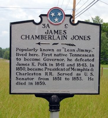 James Chamberlain Jones Marker Photo, Click for full size