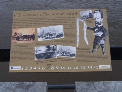 Christmas in Savannah Marker image. Click for full size.