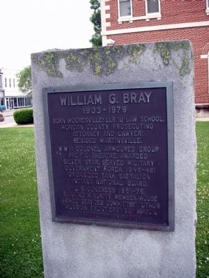 William G. Bray Marker image. Click for full size.