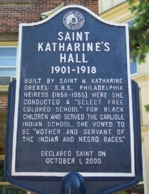 Saint Katharine's Hall Marker Photo, Click for full size