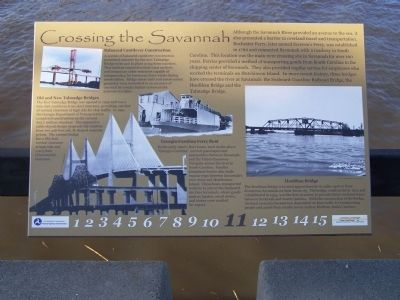 Crossing the Savannah Marker Photo, Click for full size