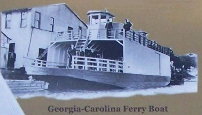 Georgia- Carolina Ferry Boat Photo, Click for full size